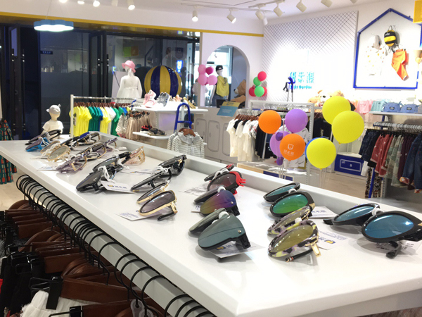 班米熊童装品牌展厅