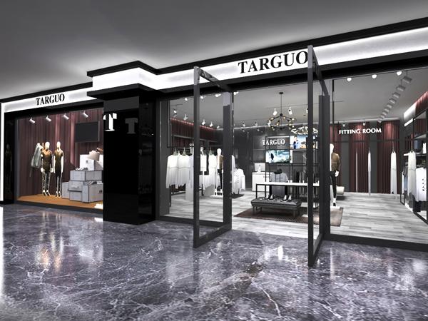 TARGUO它钴男装实体店形象图品牌旗舰店店面