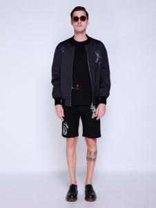 BELMAR男装黑色时尚外套