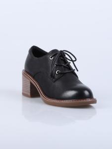 迪欧摩尼18新款女鞋英伦复古系列