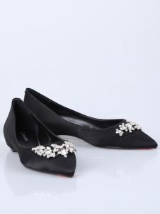 迪欧摩尼18黑色优雅闲适女鞋