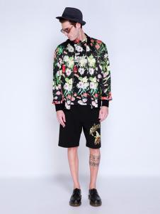 BELMAR男装印花时尚外套