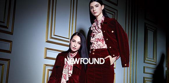 NEWFOUND纽方品牌女装诚邀加盟