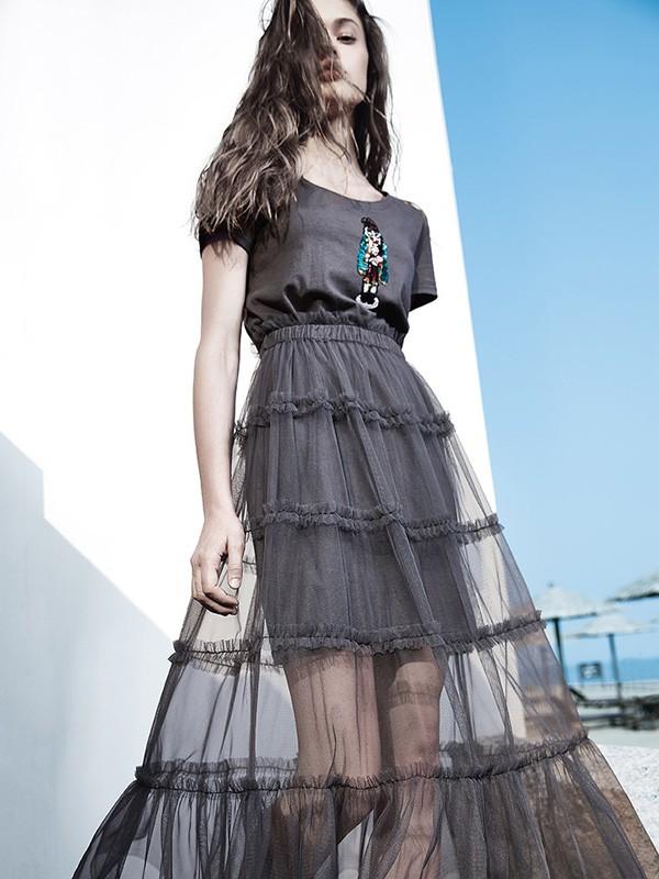 品牌衣香丽影女装一手货源剪标尾货批发