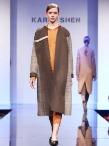 KAREN SHEN长款大衣