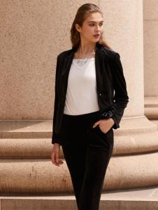 2018迪奥女装黑色短款外套
