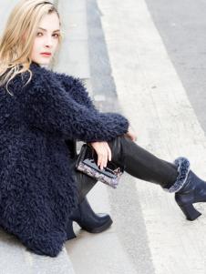 2018迪歐摩尼新款氣質女鞋