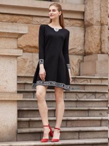 2018迪奥女装优雅小黑裙
