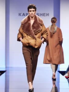 KAREN SHEN短款羽绒服