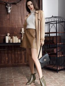 2018迪歐摩尼新款時髦女鞋