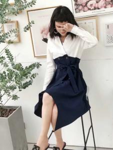 2018艾米女装韩版套装裙