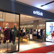 祝贺oritick奥伦提女装广东河源店8月18日盛大开业!