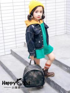 小嗨皮童装女童牛仔外套