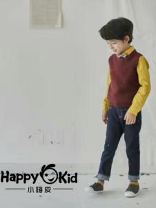 小嗨皮童装男童时尚毛衣