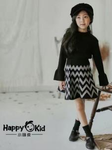 小嗨皮童装女童时尚套装裙