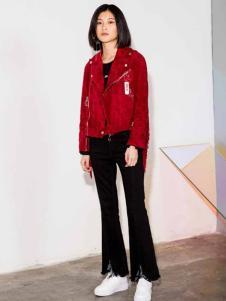 MDC女装红色时尚外套