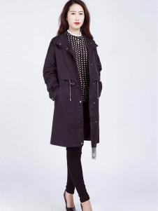 2018阿莱贝琳黑色外套