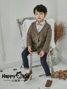 小嗨皮童装男童针织外套
