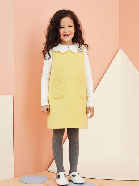 香蕉宝贝女童连衣裙