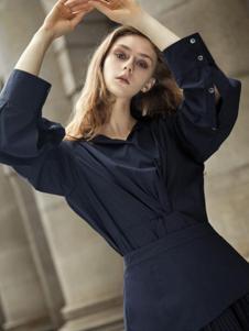 BEIGNOREJO女装藏青 甜美T恤