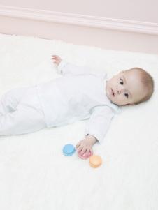 原真童裝白色嬰幼裝