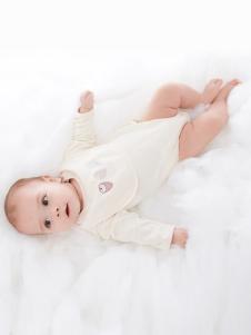 原真童裝米白色嬰幼裝