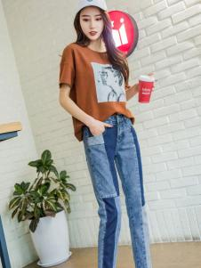 2018美酷思个性牛仔裤