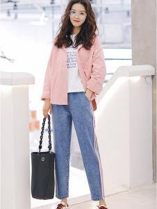 美酷思韩版牛仔裤
