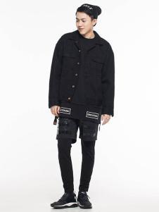 ERICCHANG男装黑色休闲外套