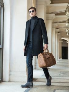 2018袋鼠男装大衣新款
