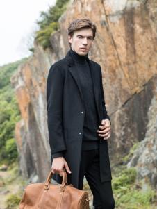 2018袋鼠男装时尚大衣