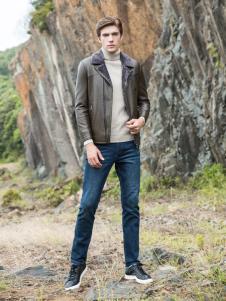 2018袋鼠男装时尚夹克
