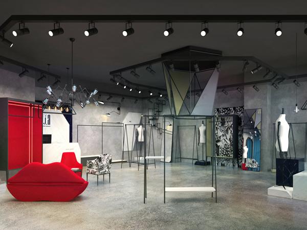 EXUN&JA品牌女装形象店