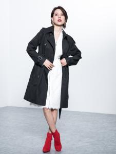 Ms.Leyna女装2018时尚风衣