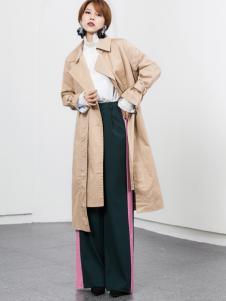 Ms.Leyna女装2018百搭风衣