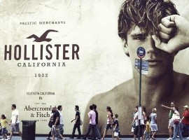 Hollister在欧洲热浪下脱销 母集团次季销售逊预期