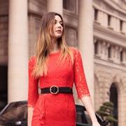例格女装连衣裙带你优雅步入秋