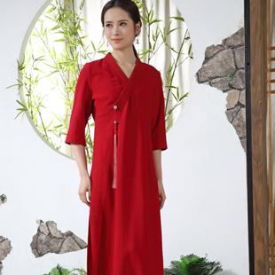 木棉道中式棉麻女装邀您加盟