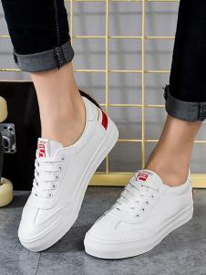 大东女式时尚小白鞋
