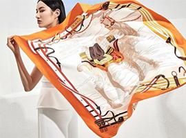 很快,LV丝巾上将出现杭州丝绸万事利的名字