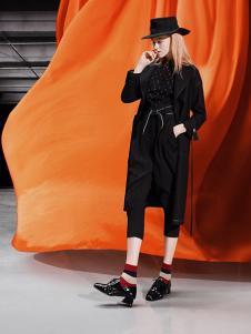 缘尚儿女装缘尚儿女装黑色时尚外套