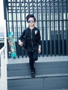 睿俐熊童装黑色时尚外套