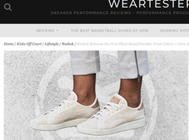Reebok推环保运动鞋 主原料来自