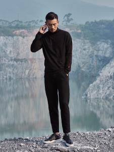 99cm秋冬新款黑色卫衣