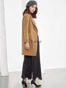 37°love女装18新款呢大衣