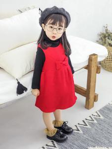 动漫童话秋冬新款连衣裙