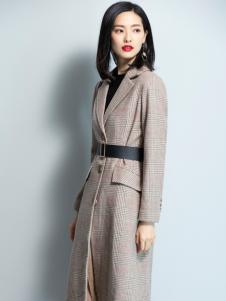 2018优衣美女装气质外套
