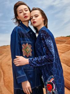 2018印巴文化刺绣牛仔外套