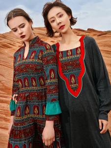 2018印巴文化女装特色连衣裙