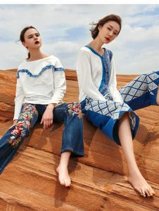 2018印巴文化女装时尚套装